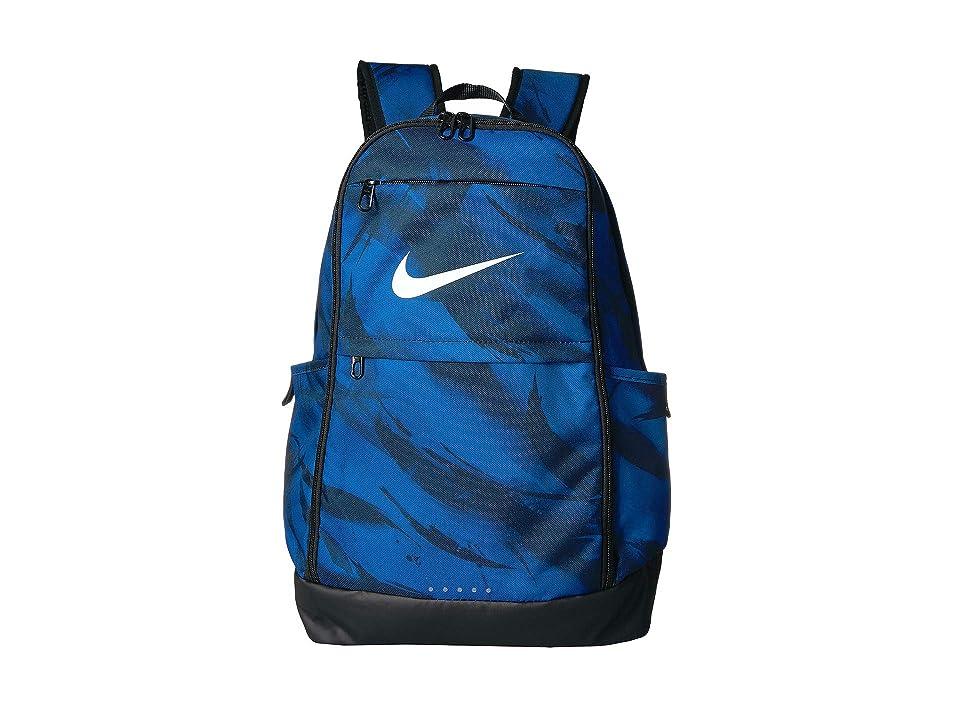 1f791e979c18 Nike Brasilia XL Training Backpack (Gym Blue Black White) Backpack Bags