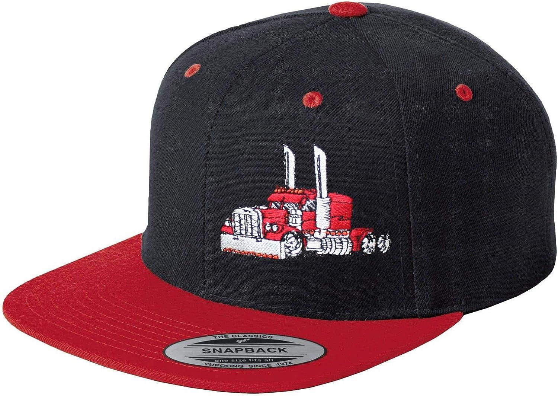 Just Ride Trucker Truck Hat Big Rig Cap Flat Bill Snapback