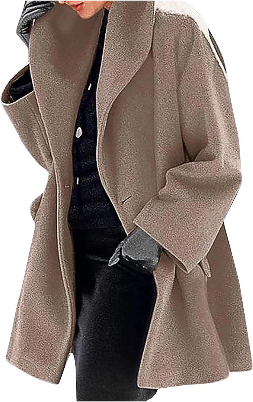 Parka Femme Manteau Hiver Femme Manteau Long Femme Manteau en Polaire ch/âle /él/égants en m/élange Long Manteau Vestes