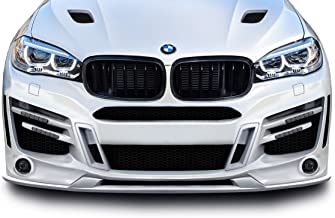 Aero Function Replacement for 2015-2019 BMW X6 F16 / X6M F86 AF-1 Front Lip Splitter (GFK) - 1 Piece