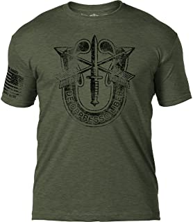 Army Special Forces 'Distressed' Patriotic Men's T Shirt