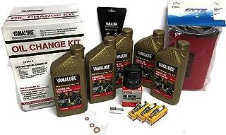 YAMAHA YXZ1000R / SS/EPS SxS Full-Synthetic Maintenance Kit Oil Change Performance GYTR Air Filters NGK Spark Plug Set Gaskets 2016 2017 2018 2019 15W50