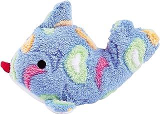 "Zanies Sea Charmer Dog Toys, Blue Fish, 7"""