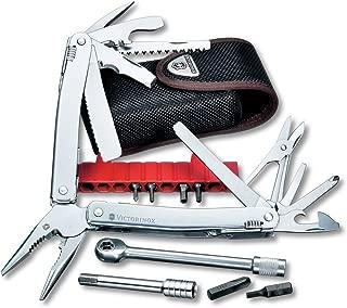 Victorinox Swiss Army SwissTool Spirit Plus Ratchet Multi-Tool, Includes Nylon Pouch