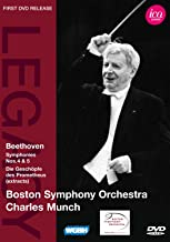 Beethoven: Symphonies No.s 4 & 5, BSO, Munch