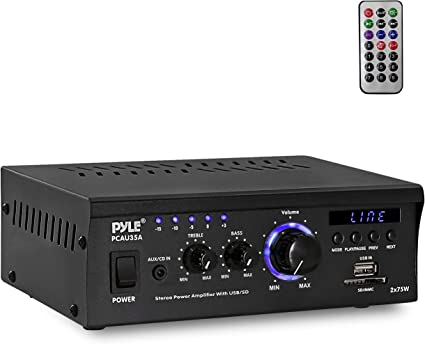 Amplifier rca power RCA Application