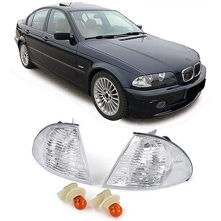 Carparts Online 10055 Blinker Weiß Kristall Paar Auto
