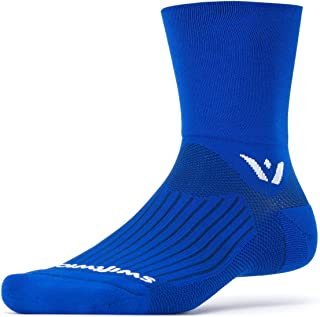 ASPIRE FOUR   Trail Running, Cycling Crew Socks   Fast Dry, Compression Fit
