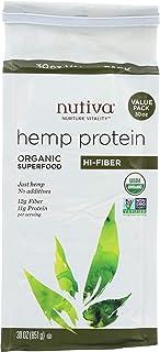 Nutiva, Hemp Protein Fiber Eco Organic, 30 Ounce