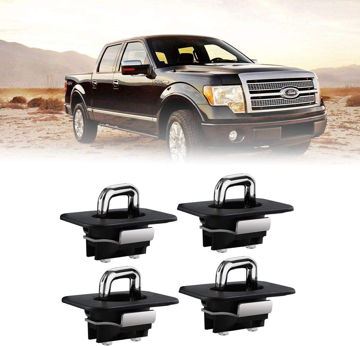 Cheap super special price Dibanyou 4pcs 4001-XT Tie Down Anchors Bed Truck Side Wall Ancho famous