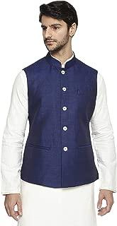 Best blue linen nehru jacket Reviews