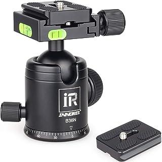 ROWEQPP TPC60 360/¡/ã Panoramic Camera Ballhead Tripod Head for Tripods Monopods DSLR Camera