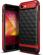 Caseology Parallax for Apple iPhone 8 Case (2017) / for iPhone 7 Case (2016) - Award Winning Design - Red