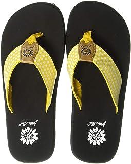 6af88a3c0eb64 Yellow box flip flops wholesale
