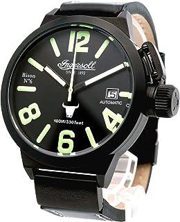 インガーソル 腕時計 自動巻き 限定生産品 52mm BISON NO. 6 IN8900BBK [並行輸入品]