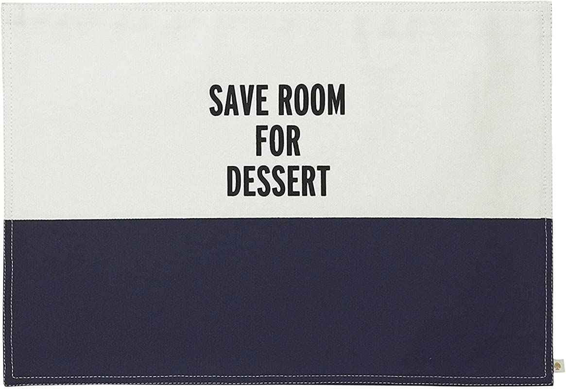 Kate Spade New York Food For Thought Placemat Navy