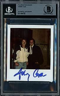 Johnny Cash Autographed Signed 3.5x4 Polaroid Photo Singer Beckett BAS 11484792