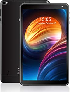Tablet 10.1 inch Android Tablet AWOW, 1.5GHz Quad Core, 2GB RAM, 16GB ROM, 1280 x 800 HD IPS, 0.3MP & 2MP Camera, Android 10(Go Edition), 2.4G WiFi, Bluetooth 4.0, 5000mAh Battery Capacity
