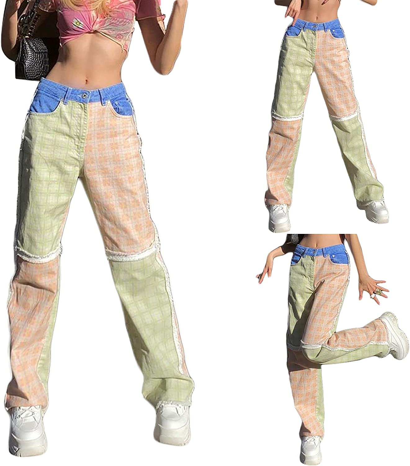 Summer and Autumn Max 85% OFF Women's Wide-Leg Limited price sale Pa Loose-Fitting Casual Pants