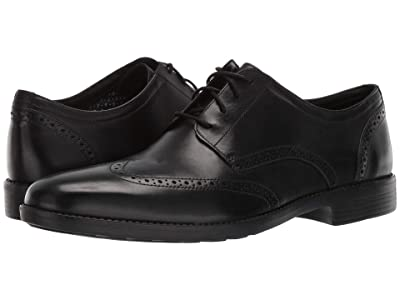 Bostonian Birkett Wing (Black Leather) Men
