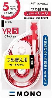 修正テープ モノYX カートリッジ 5mm幅 CT-YR5