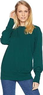 Unisex Vintage Clothing Bay Meadows Sweatshirt Bottle Green X-Small