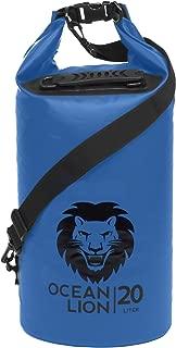 Adventure Lion Premium Waterproof Dry Bags for Kayaking, Camping, Boating | 5, 10, 20, 40L