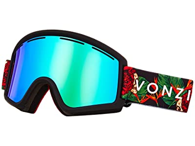 VonZipper Cleaver Goggle (Black Satin/Wild Quasar Chrome) Snow Goggles
