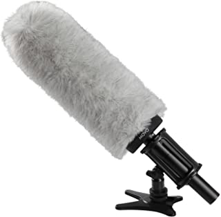Movo WS240 Professional Windscreen with Acoustic Foam Technology for Shotgun Microphones up to 22cm Long