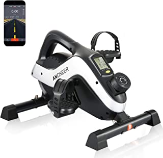 ANCHEER Pedal Exerciser, Under Desk Cycle Mini Exercise...