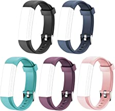 Letsfit Replacement Bands for Fitness Tracker ID115U HR, ID115U HR Accessory Bands, Adjustable Replacement Straps