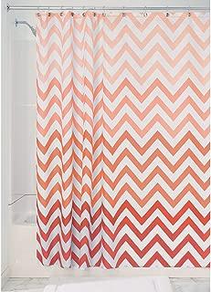 InterDesign 52025 Ombre Chevron Fabric Shower Curtain - Standard, 72