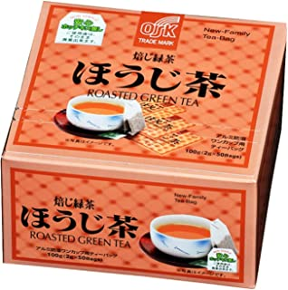 OSK Japanese Roasted Green Tea, 50 Count