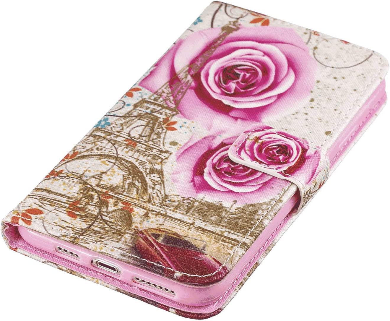 Cover for Leather Wallet Cover Card Holders Extra-Protective Business Kickstand Flip Cover iPhone Xs Flip Case