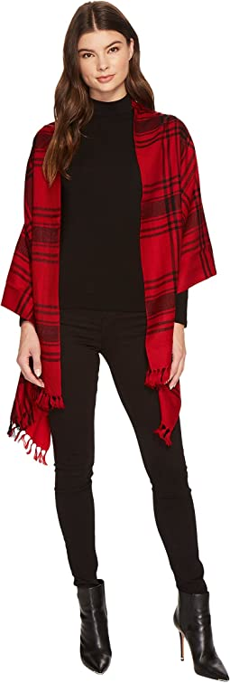 LAUREN Ralph Lauren - Icon Plaid Blanket Wrap
