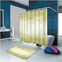 Epinki Polyester Washable Bathroom Curtain Set Colorful Fantasy Shower Curtain with 12 Hooks Size 165x200CM Bathroom Curta...