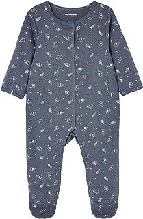 b630332c8 VERTBAUDET Lote de 2 pijamas para bebé de algodón con estampado y  automáticos delante AZUL OSCURO