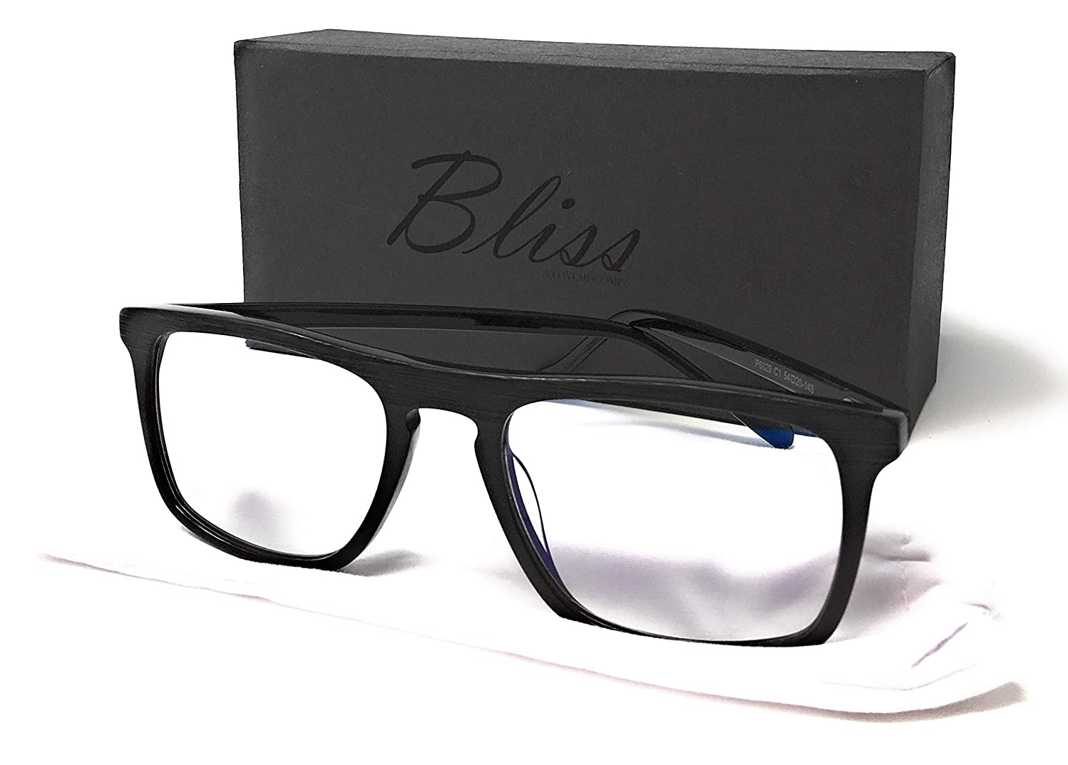 Computer Blue Light Blocking Glasses for Anti Eyestrain (for use with Computer, Gaming, TV, Tablet, and Phone) by Bliss Eyewear Comp.