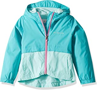 Columbia Girl's Rain-Zilla Jacket, Waterproof, Fleece Lined