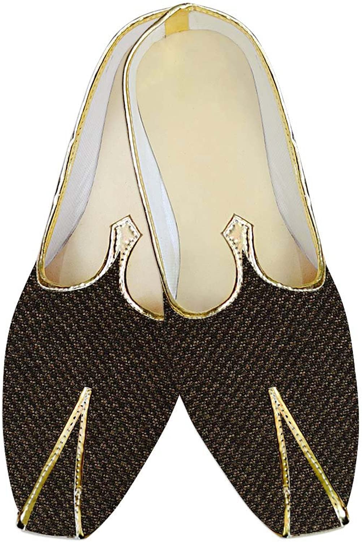 INMONARCH Mens Olive Drab Jute Wedding shoes Bollywood MJ013938