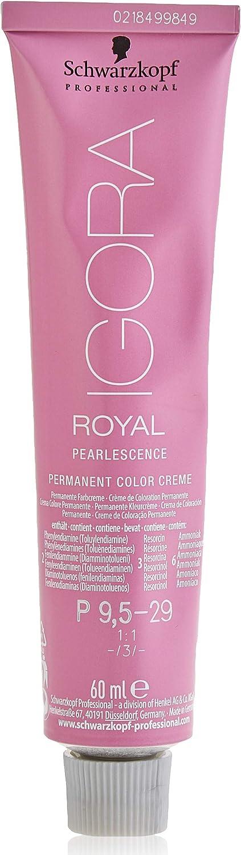 Schwarzkopf IGORA ROYAL Tinte permanente, Color 9,5-29, Pearlescence - 60 ml