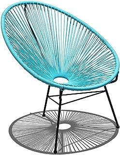 Harmonia Living Acapulco Lounge Chair, Glacier Blue