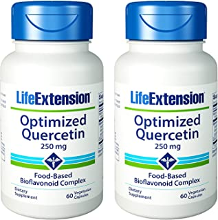 Life Extension Optimized Quercetin | 60 Vegetarian Capsules (Multi-Pack)