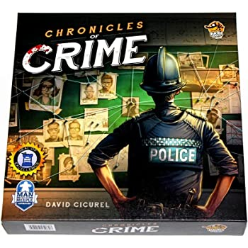 Lucky Duck Games Chronicles of Crime
