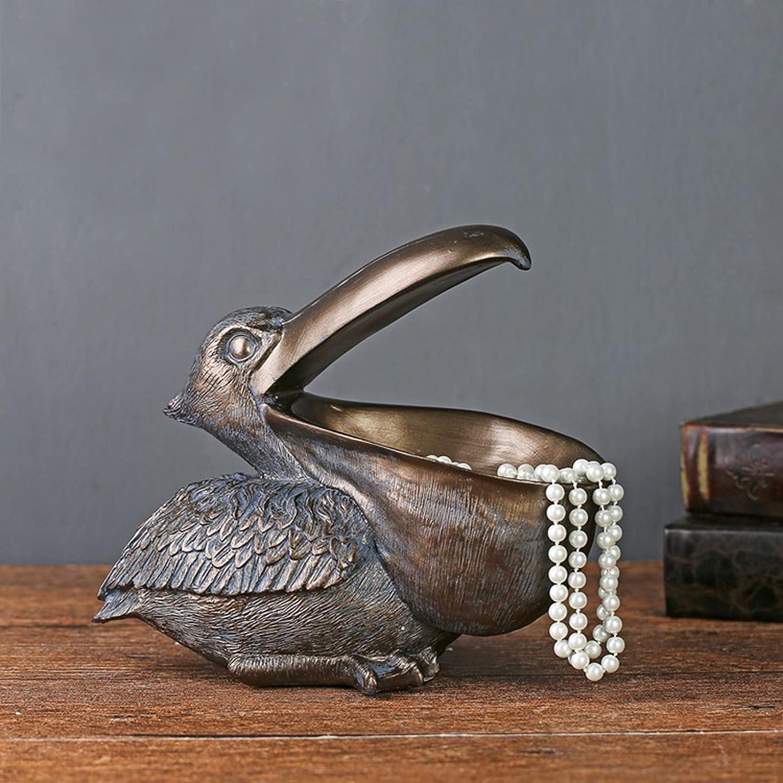 Pelican Figurine - Resin Toucan B Storage Decor Daily bargain sale Statue Creative Max 70% OFF