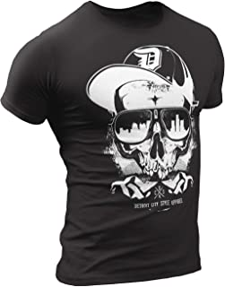 Detroit Shirts for Men by Detroit Rebels T-Shirt Brand. Motor City D Apparel.