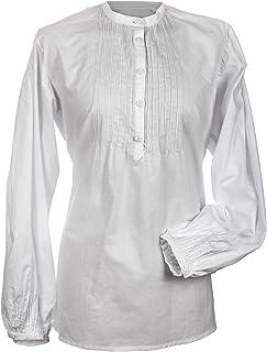 Camisa regional para mujer. Modelo Bergantiños.