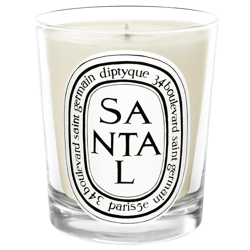 代表団スリムパステル[Diptyque] Diptyqueのサンタル香りのキャンドル190グラム - Diptyque Santal Scented Candle 190g [並行輸入品]