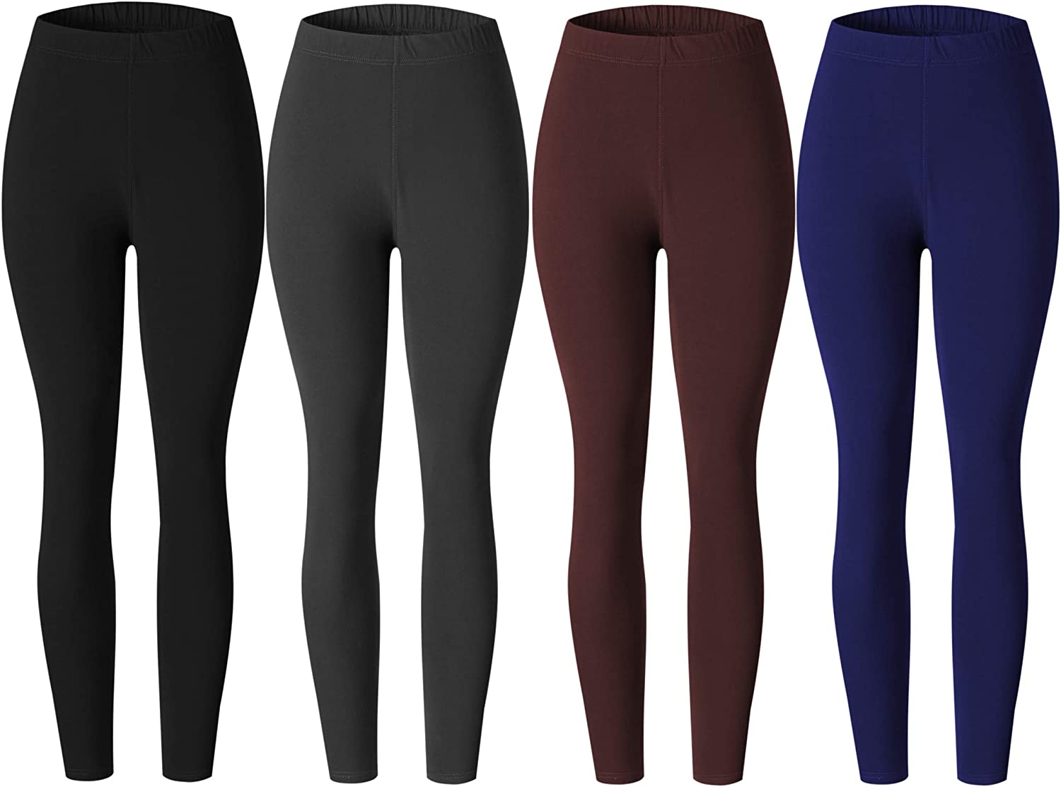 Spandex Butt Lift Ladies Ankle Leggings for Women Buttery Soft Regular and Plus Size