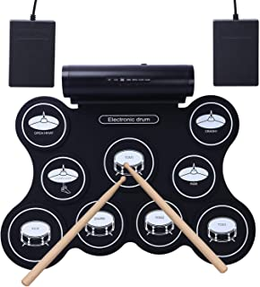 cahaya roll up electronic drum kit